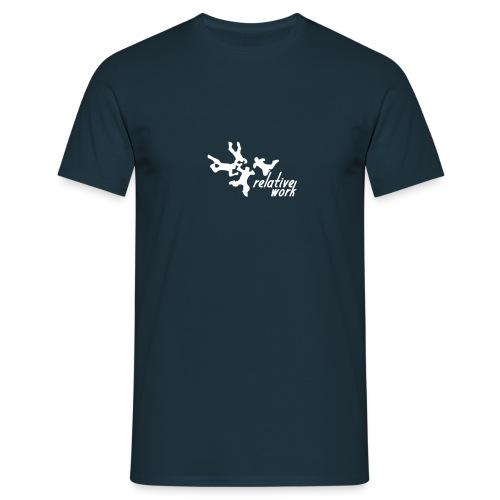 relative work - one color - Männer T-Shirt