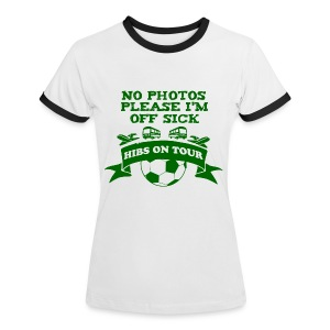 No Photos Please - Women's Ringer T-Shirt