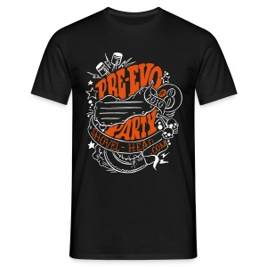Pre-Evo-Party #8 - Männer T-Shirt