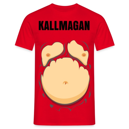 KALL MAGAN - T-shirt herr