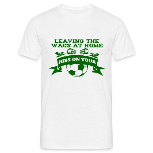 Leaving the WAGS at home - Men's T-Shirt
