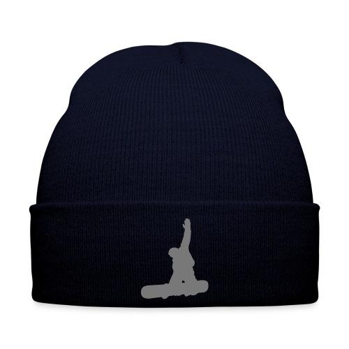 berretto blu logo - Cappellino invernale