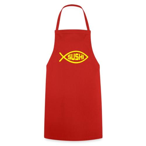 grembiule rosso - Grembiule da cucina