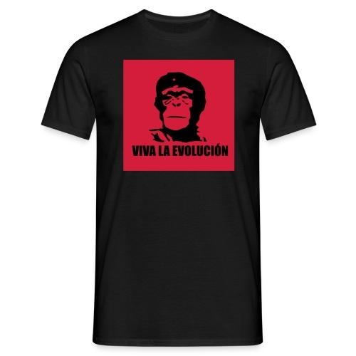 Viva la Evolusjon - t-skjorte - sort- gutt - T-skjorte for menn