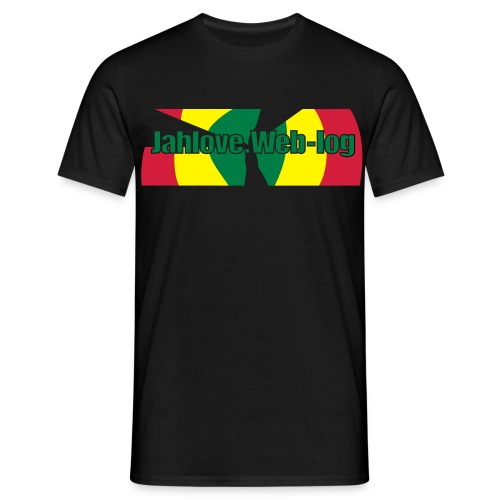 Men: JahLove.Web-Log 3 t-shirt - Men's T-Shirt
