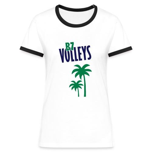 Sponsoring VB_6 - Frauen Kontrast-T-Shirt