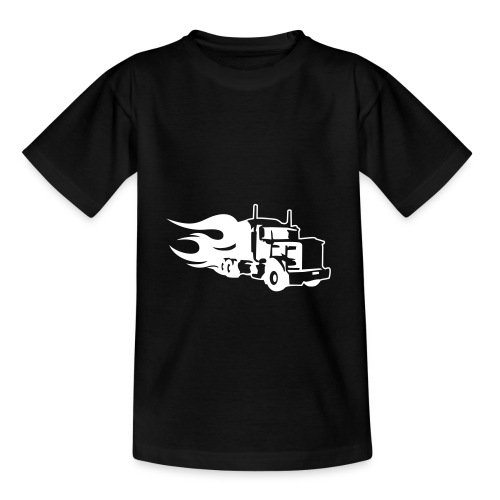 Kids Truck T-shirt - Teenage T-Shirt