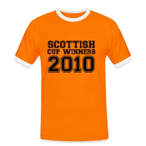 2010 Scottish Cup Winners - Men's Ringer Shirt