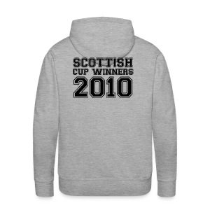 2010 Scottish Cup Winners - Men's Premium Hoodie