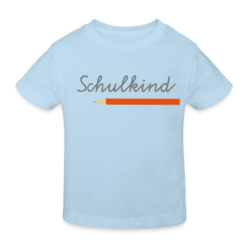Kinder Bio-T-Shirt - schultüte,schultag,schule,lernen,grundschule,erste Klasse,anfang,Zuckertüte,Schüler,Schulkind,Schuleinführung,Schulanfang,Erstklässler,Erste,1a,-schütze