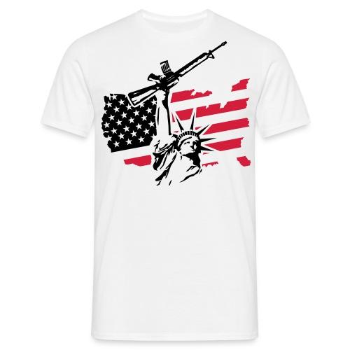 USA  - Herre-T-shirt