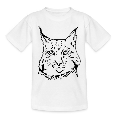 KIDS LYNX WHITE T-SHIRT - Teenage T-shirt
