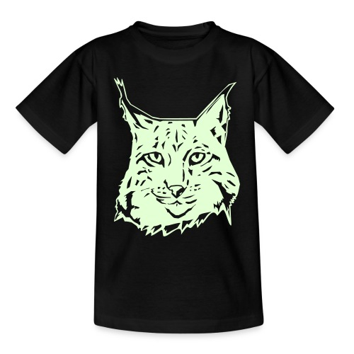 KIDS GLOW IN THE DARK LYNX T-SHIRT - Teenage T-Shirt