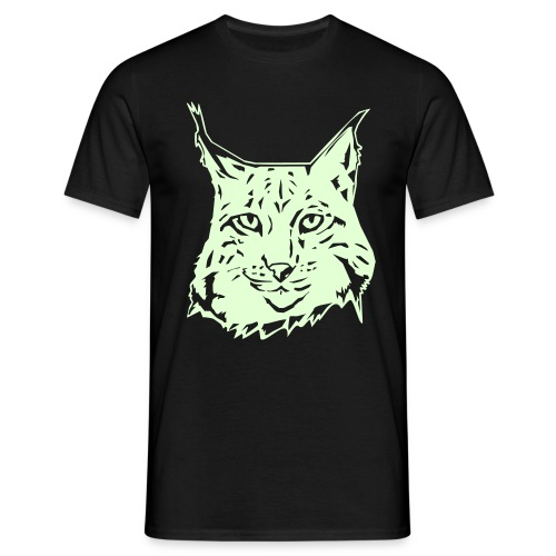 MEN'S GLOW IN THE DARK LYNX T-SHIRT - Men's T-Shirt