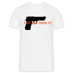 Gat does it - T-shirt herr