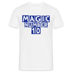 Magic Number 10 Fanshirt - T-shirt Homme