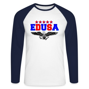 EDUSA - Men's Long Sleeve Baseball T-Shirt