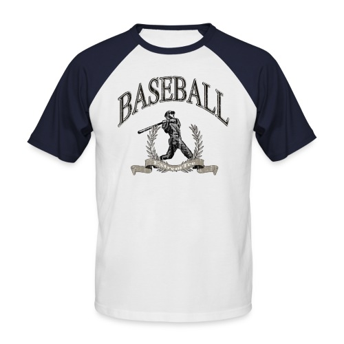 Baseball - Retro - Männer Baseball-T-Shirt