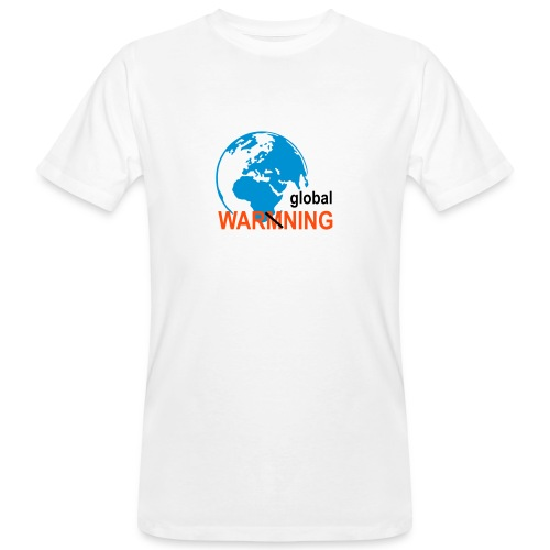 Global warning - Men's Organic T-shirt
