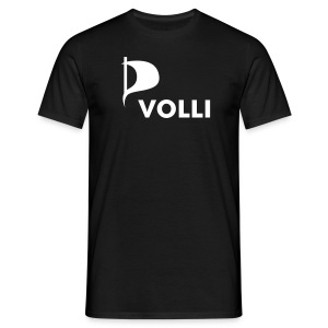 Piratenshirt - Volli - Männer T-Shirt