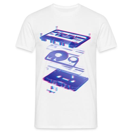Cassette - Herre-T-shirt