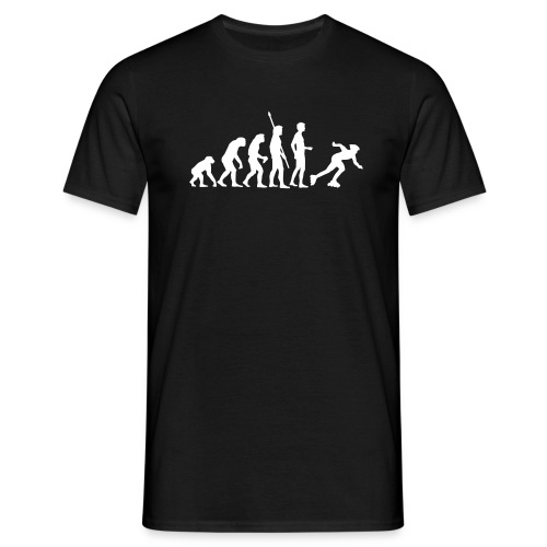Evolution roller in line - Blk Ed - T-shirt Homme