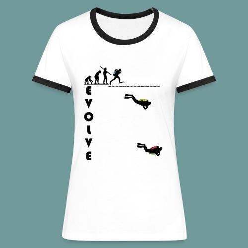 TSF EVOLVE BL - T-shirt contrasté Femme
