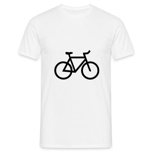 T-shirt Klassiek - Bike - Mannen T-shirt