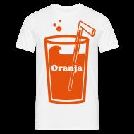 T-shirts ~ Mannen T-shirt ~ Oranja