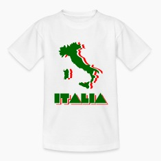 White Italia Kids' Shirts