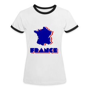 France - Women's Ringer T-Shirt
