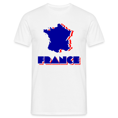 White France Men's T-Shirts