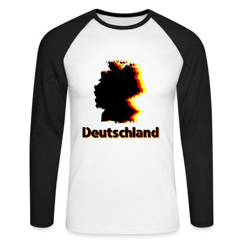 Deutschland - Men's Long Sleeve Baseball T-Shirt