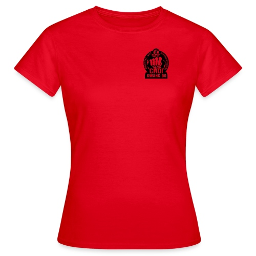 CKD - Ladies T-shirt - Red - Women's T-Shirt