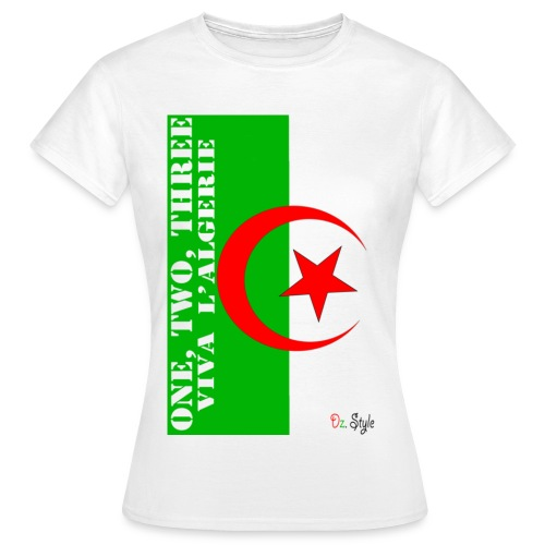 One, Two, Three.. - T-shirt Femme