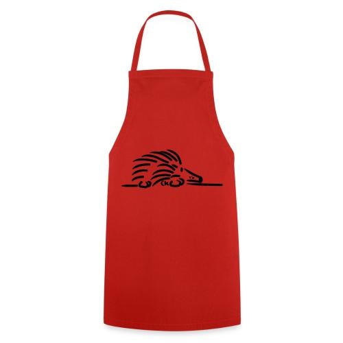 Tablier hérisson rouge - Tablier de cuisine