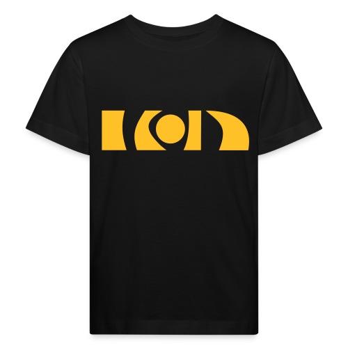 Kinder rapsgelb BIO (nur vorne) - Kinder Bio-T-Shirt