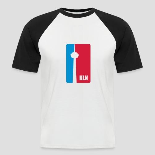 KLN shirt - Männer Baseball-T-Shirt