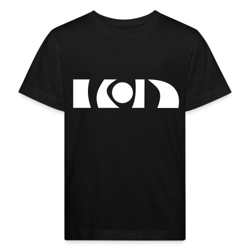 Kinder schneeweiß BIO (nur vorne) - Kinder Bio-T-Shirt