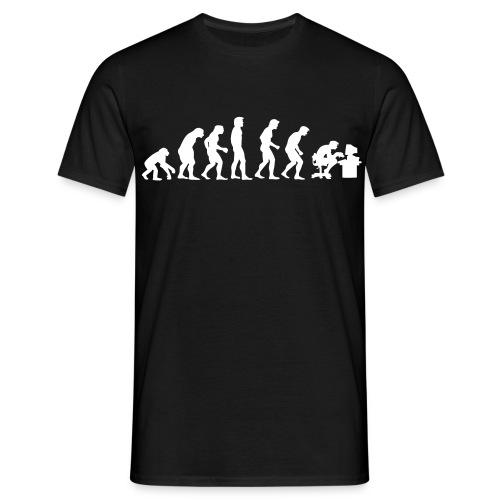 Evolution - Man - Maglietta da uomo
