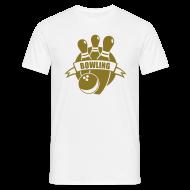 T-Shirts ~ Männer T-Shirt ~ golden bowler
