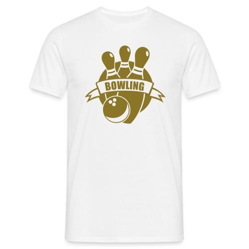 golden bowler - Männer T-Shirt