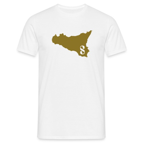 Sicilia Blanc Or - Men's T-Shirt