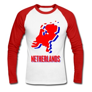 Netherlands - Men's Long Sleeve Baseball T-Shirt
