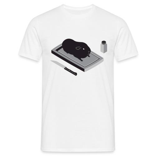 Man standaard cavia - Mannen T-shirt