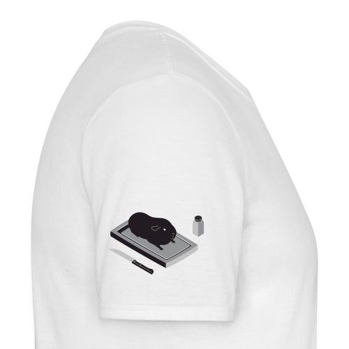 basic wit subtiel - Mannen T-shirt