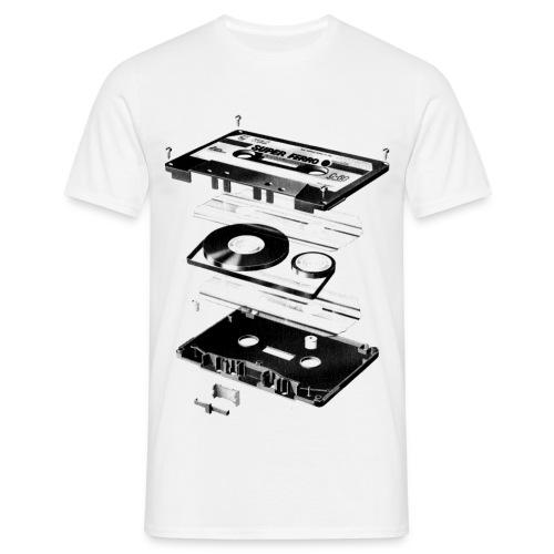 Camiseta de cassette - Camiseta hombre