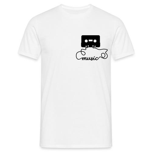 Camiseta de music tape - Camiseta hombre