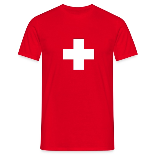 Switzerland Cross - Männer T-Shirt