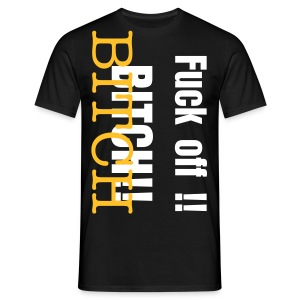 BITCH! - T-shirt herr